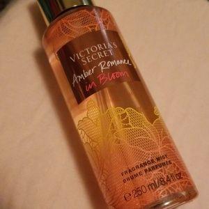 Amber romance in bloom